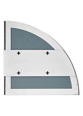 AYTM - Spejl - UNITY quarter circle mirror - Silver