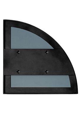 AYTM - Spejl - UNITY quarter circle mirror - Black