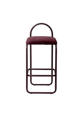 AYTM - Chair - ANGUI bar chair - Low - Bordeaux