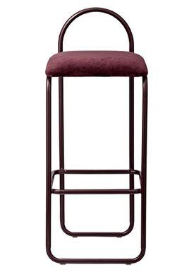 AYTM - Stol - ANGUI bar chair - High - Bordeaux