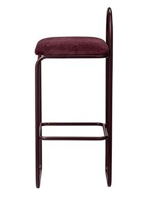 AYTM - Chair - ANGUI bar chair - High - Bordeaux