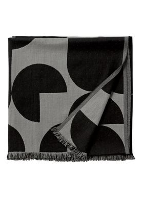 AYTM - Filt - FORMA jacquard throw - Black/Grey