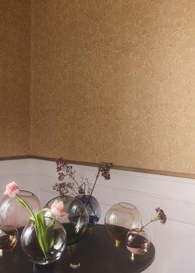 AYTM - Vase - Vase w/stand - Rose/Gold Medium