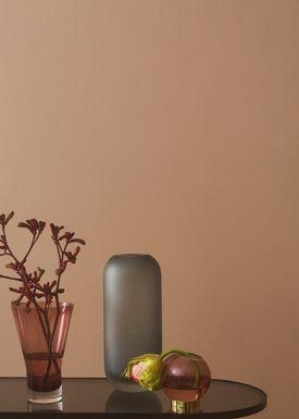 AYTM - Vase - Vase w/stand - Rose/Gold Mini