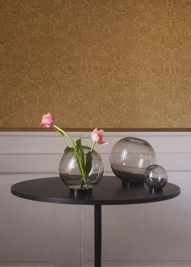 AYTM - Vase - Vase w/stand - Black Medium