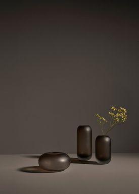AYTM - Vase - HYDRIA - High - Walnut