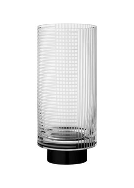 AYTM - Vase - VITREUS - Medium - Clear/Black