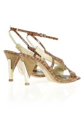 123123 Stilettos Brown