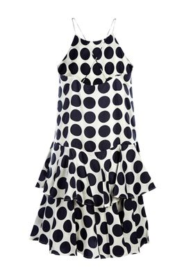 Baum und Pferdgarten - Dress - Adia - Navy Big Dots