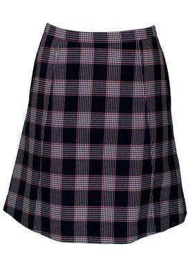 Baum und Pferdgarten - Skirt - Sayoko Spring 18 - Blue Red Check
