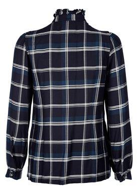 Baum und Pferdgarten - Skjorte - Marjorie - Blue Check