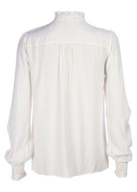 Baum und Pferdgarten - Shirt - Missy - Cream White