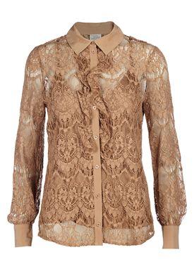 Baum und Pferdgarten - Shirt - Moore Lace - Tanned