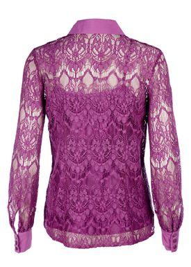 Baum und Pferdgarten - Shirt - Moore Lace - Dahlia Magenta