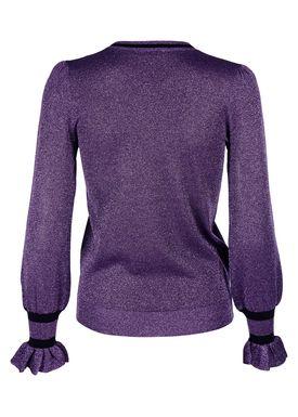 Baum und Pferdgarten - Strik - Carmel AW17 - Purple Glitter