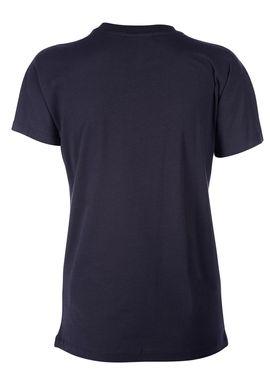 Baum und Pferdgarten - T-shirt - Eira AW17 - Navy w. Gold Print