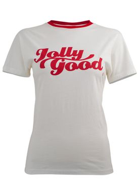 Baum und Pferdgarten - T-shirt - Eira - Jolly Good - White & Red