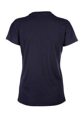Baum und Pferdgarten - T-shirt - Eira - Logo Tee - Blue/Metallic Red