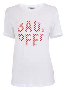 Baum und Pferdgarten - T-shirt - Enye AW18 - Bright White/Red