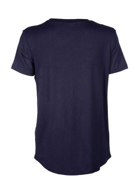 Baum und Pferdgarten - T-shirt - Enye Fluffy Logo - Night Sky
