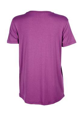 Baum und Pferdgarten - T-shirt - Enye Fluffy Logo - Dahlia Magenta