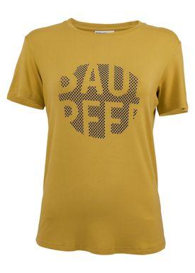 Baum und Pferdgarten - T-shirt - Enye Logo - Oil Yellow