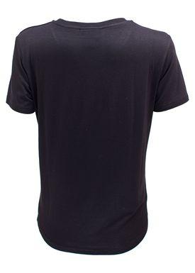 Baum und Pferdgarten - T-shirt - Enye Logo - Black