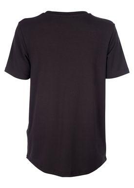 Baum und Pferdgarten - T-shirt - Enye SS17 - Sort m. Metallisk