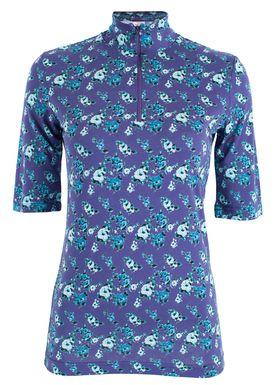 Baum und Pferdgarten - T-shirt - Janana AW18 - Blue Rose Puff