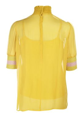 Baum und Pferdgarten - T-shirt - Maribel - Oil Yellow
