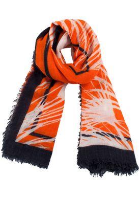 Baum und Pferdgarten - Tørklæde - Lowell Spring 18 - Orange Palm