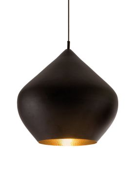 Tom Dixon - Lampe - Beat Stout Pendant - Sort/Messing
