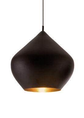 Tom Dixon - Lampe - Beat Stout Pendant - Sort/Messing