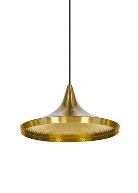 Tom Dixon - Lampe - Beat Wide Pendant - Messing