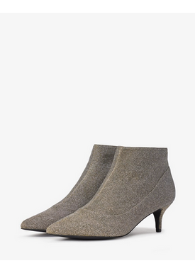 Bianco - Ankle Boots - Amy Kitten Heel - Golden Glitter