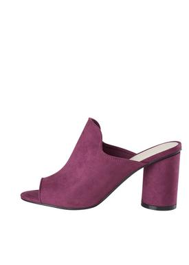 Bianco - Stiletter - Mule Sandal - Lilac