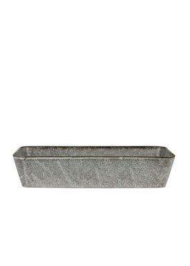 Bitz - Dish - Bitz Fade - Grey Rectangular Dish 38x24