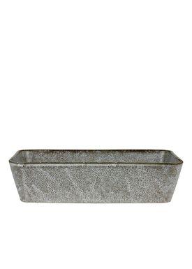 Bitz - Dish - Bitz Fade - Grey Rectangular Dish 32x19