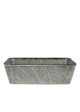 Bitz - Dish - Bitz Fade - Grey Rectangular Dish 19x14