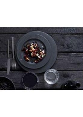 Bitz - Plate - Bitz Tallerken - Black Dinner