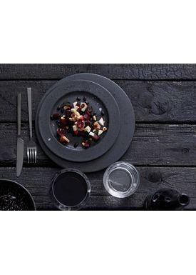 Bitz - Plate - Bitz Tallerken - Black Dessert