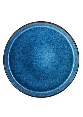 Bitz - Plate - Gastro tallerken - Large - Black/Dark blue