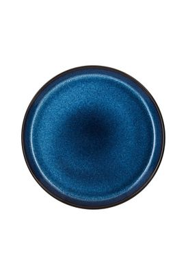 Bitz - Plate - Gastro tallerken - Small - Black/Dark blue