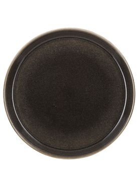 Bitz - Plate - Gastro tallerken - Large - Grey/Black