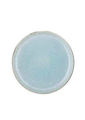 Bitz - Plate - Gastro tallerken - Small - Grey/Light blue