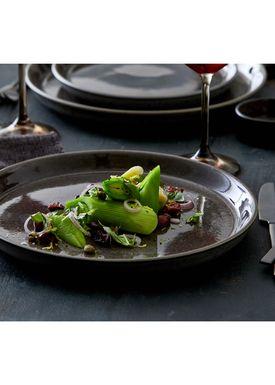 Bitz - Plate - Gastro tallerken - Small - Grey/Black