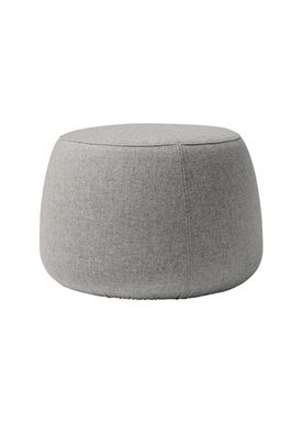 Bloomingville - Puf - Sit Puf - Grey Wool Small