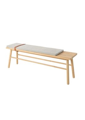 Bloomingville - Stol - Straight Bench - Natur eg