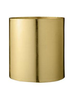 Bloomingville - Urtepotte - Urtepotteskjuler Guld Metal - Large