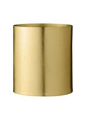 Bloomingville - Urtepotte - Urtepotteskjuler Guld Metal - Small